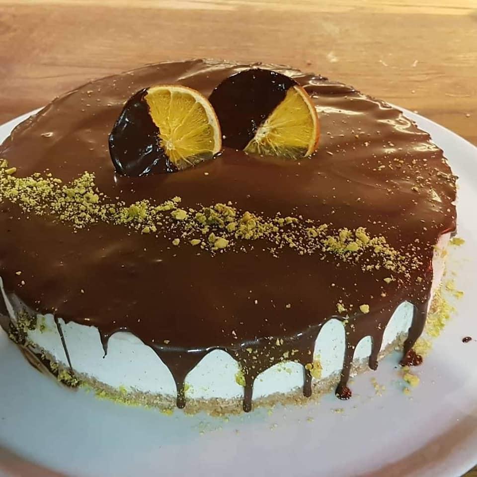 Kuchen orange